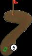 Bahn 5: Rindenmulch